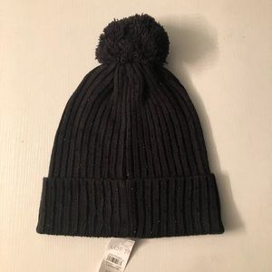 Women's Ann  Taylor Loft  Black Winter Hat